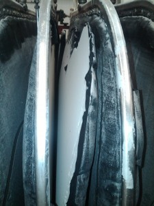 What a good looking precoat shd look like. Clean rls